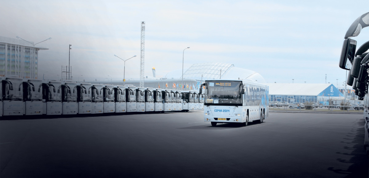 Олимпийский рывок: автобусы для Сочи
