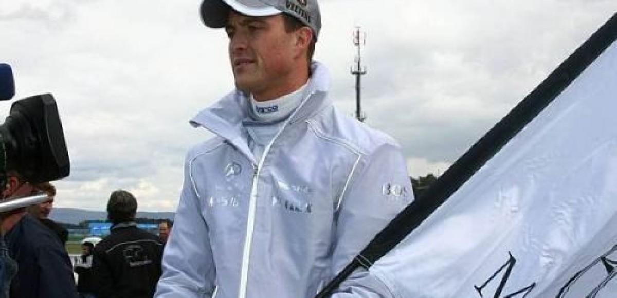 Ральф Шумахер стал добиваться успеха в чемпионате DTM