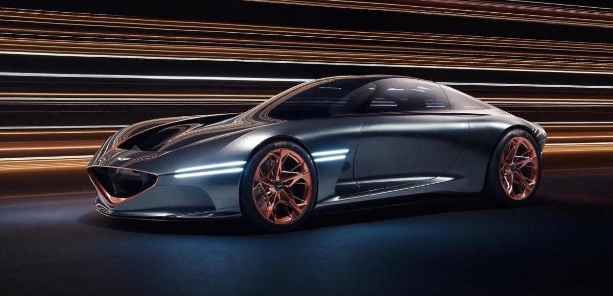 Бренд Genesis представил прототип роскошного купе