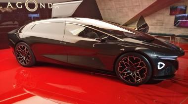 Lagonda Vision Concept: легенда возрождается в электричестве