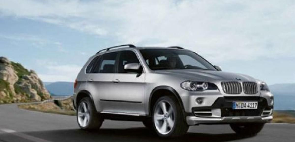 10 Years BMW X5. Юбилейная версия в «Автокрафте», Москва