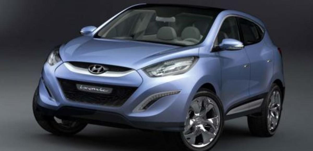 Hyundai ix-onic concept. Почти Tucson