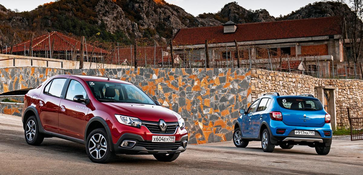 Тест-драйв Renault Logan Stepway и Sandero Stepway. Как кроссоверы, только дешевле?
