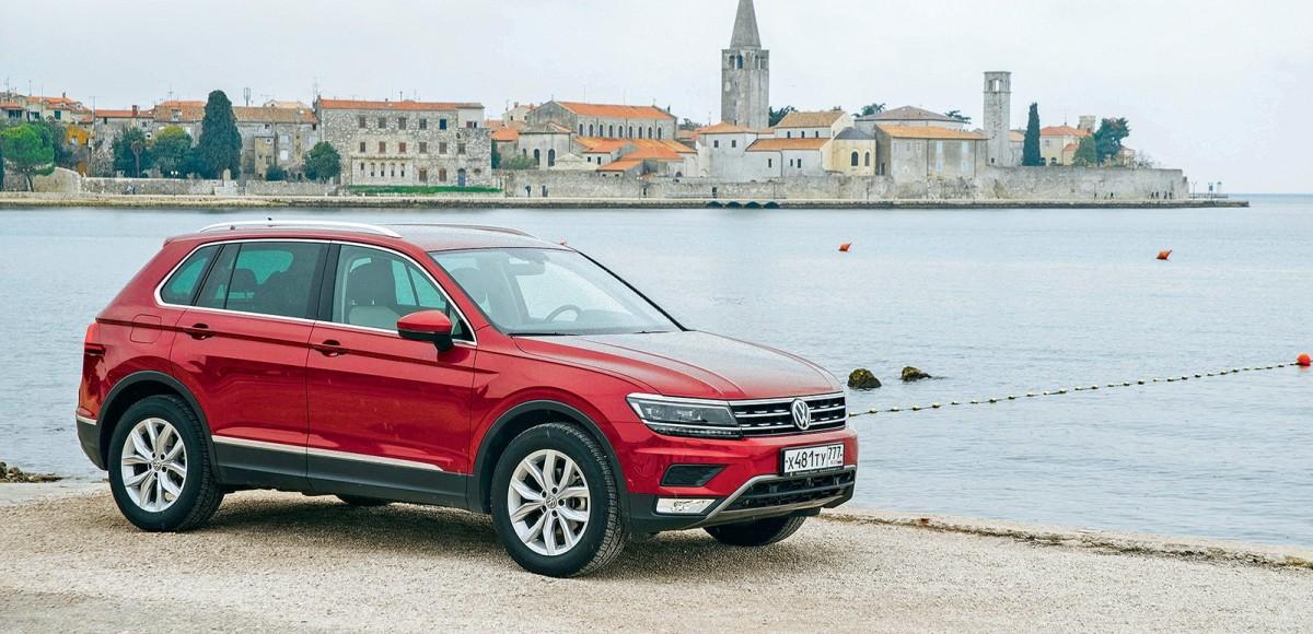 Из России в Хорватию на VW Tiguan