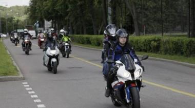 Автоцентр «Автокрафт»  провел в Москве тест-драйв мотоциклов BMW