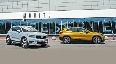 BMW X2 против Volvo XC40. Выбираем кроссовер полагаясь на разум и чувства