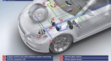 Bosch предлагает новую систему «старт-стоп» для автомобилей с АКПП
