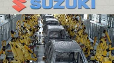 Газовая война между Украиной и Россией привела к остановке завода Suzuki в Венгрии