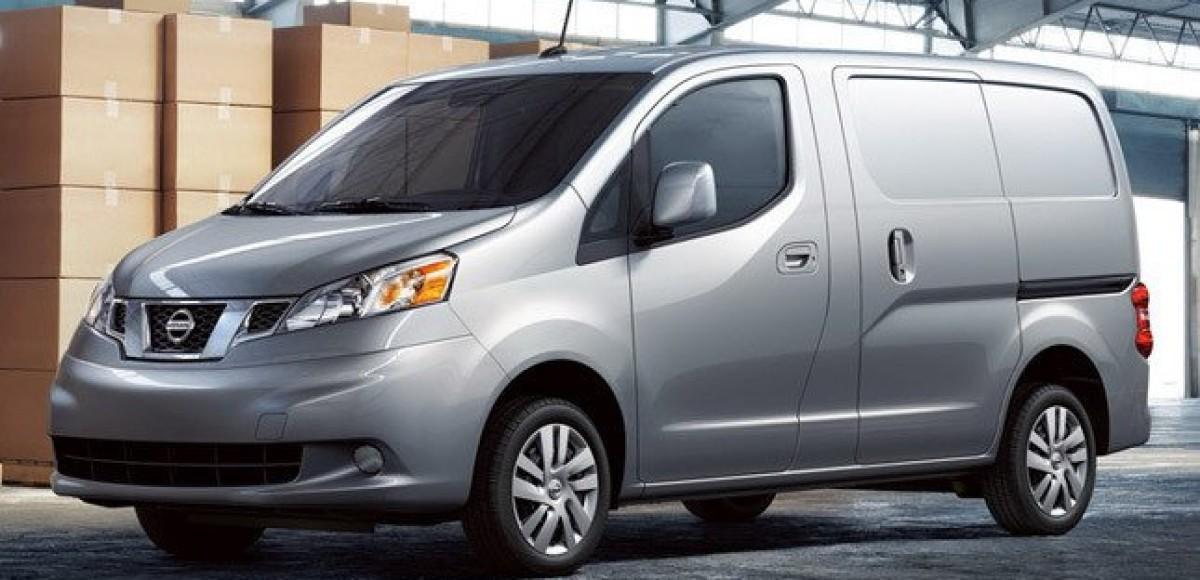 Nissan NV200 удлинили для Америки