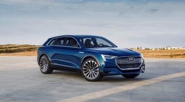 Новый кроссовер Audi станет электрическим