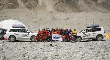 Испытание Эверестом: финал экспедиции Toyota