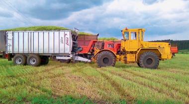 В помощь агробизнесу: трактор «Кировец»