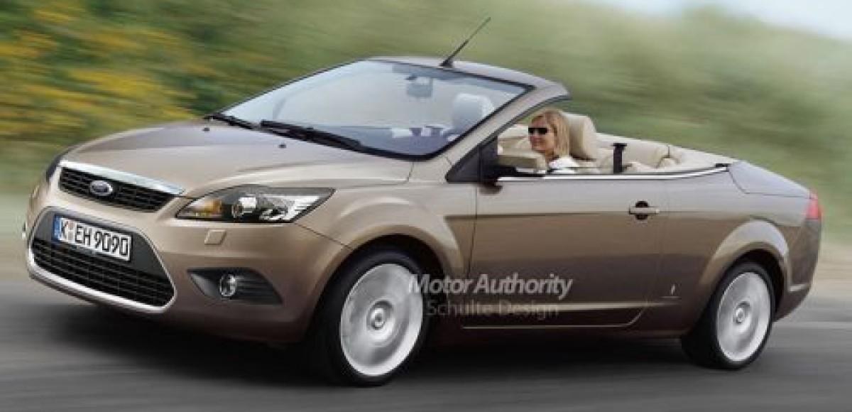 2008 Ford Focus Cabrio. Фейслифт