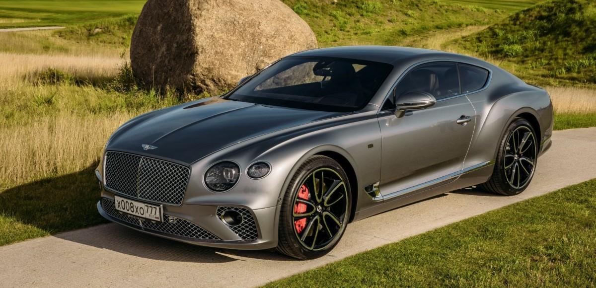 Российская премьера Bentley Continental GT в Петербурге