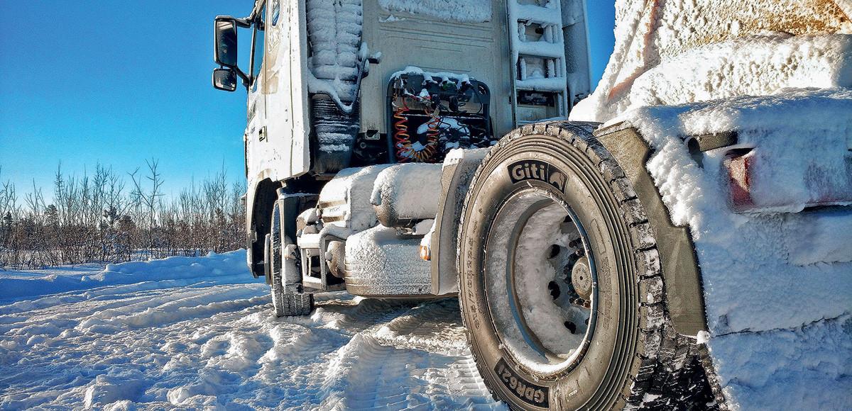 Вершины безопасности: зимние шины Giti для грузовиков