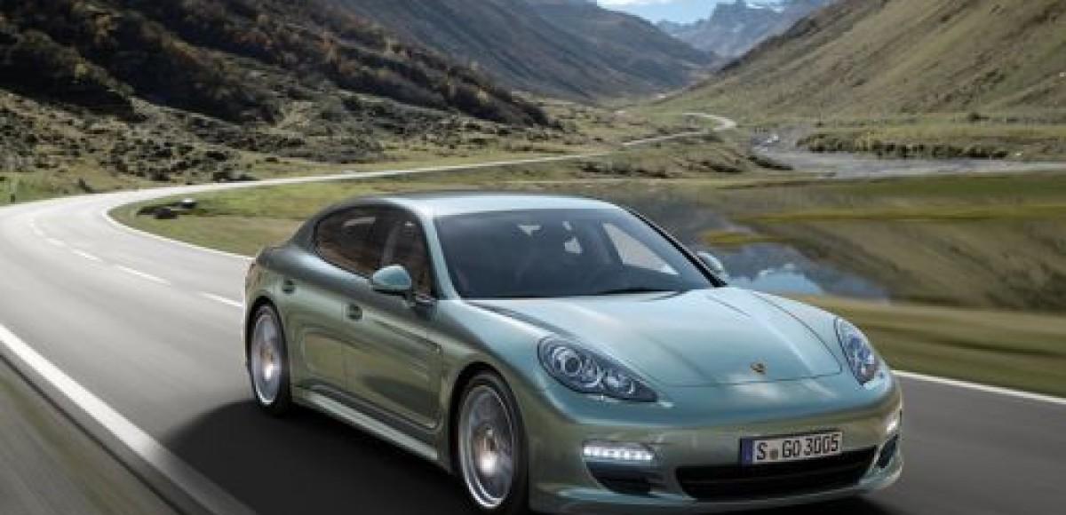 Porsche Panamera обзавелся дизельным мотором