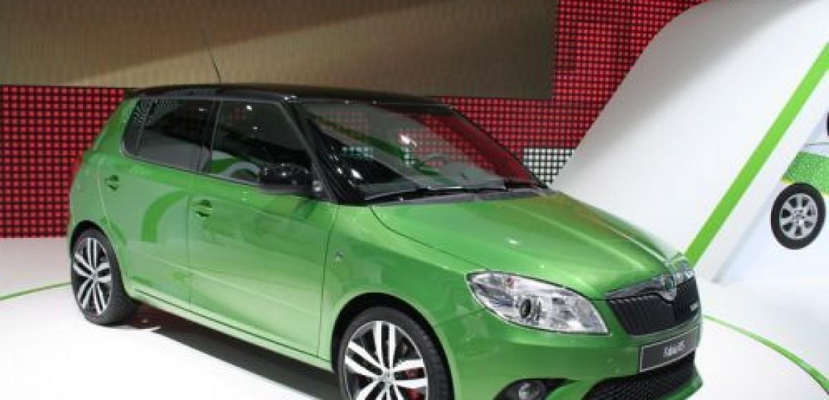 Skoda объявляет цены на Fabia RS и Fabia Scout
