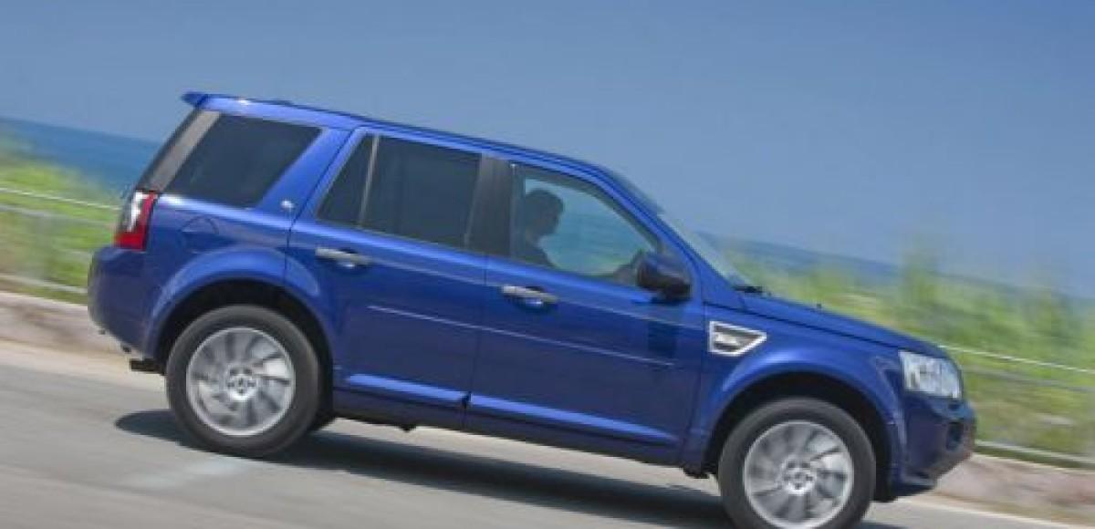 Land Rover выпускает обновленный Freelander 2