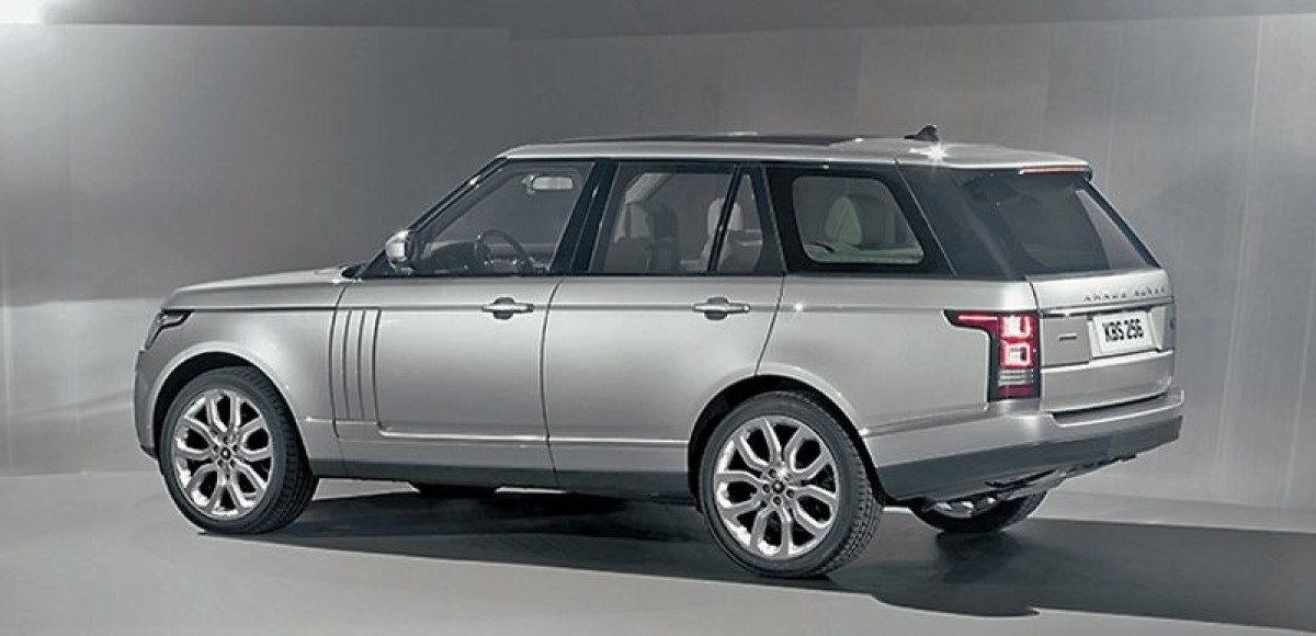 Range Rover. Металл-детектор