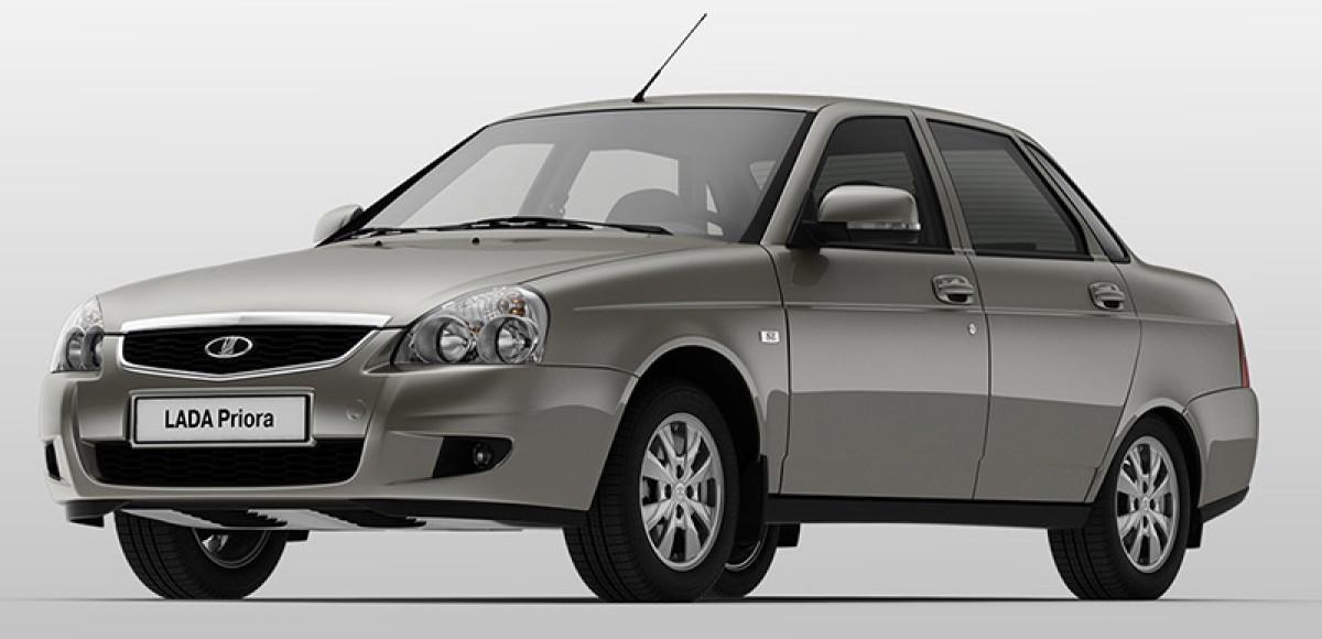 Lada Priora с новым «роботом»