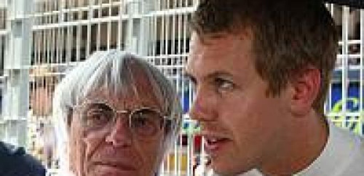 Экклстоун: «Феттель — это чемпион будущего»