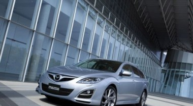 Тест-драйв Mazda6 Face Lifting в «Охта-Парке»