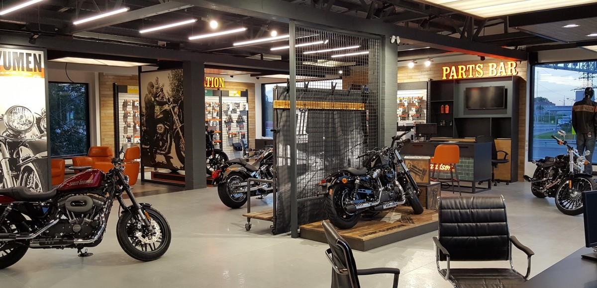 Harley-Davidson теперь и в Тюмени