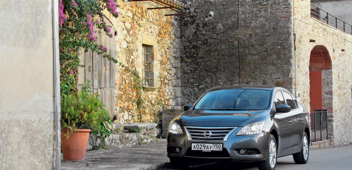 Nissan Sentra. Уменьшенная Teana