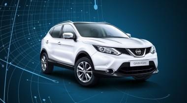 Nissan Qashqai 2017: ГЛОНАСС и «акулий плавник»
