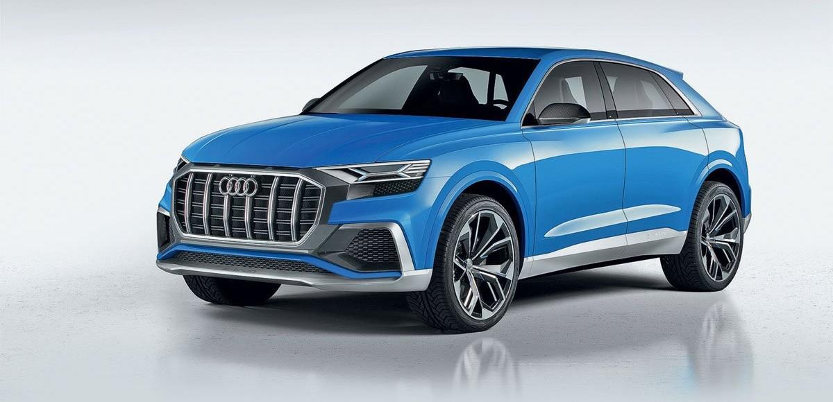 Audi Q8 Concept. Топ-модель