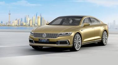 Volkswagen C Coupe GTE. На будущее