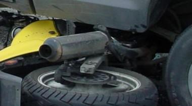 Водитель автомобиля РАО ЕЭС сбил в Москве мотоциклиста