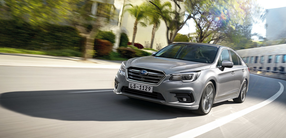 Subaru Legacy вернулся в Россию