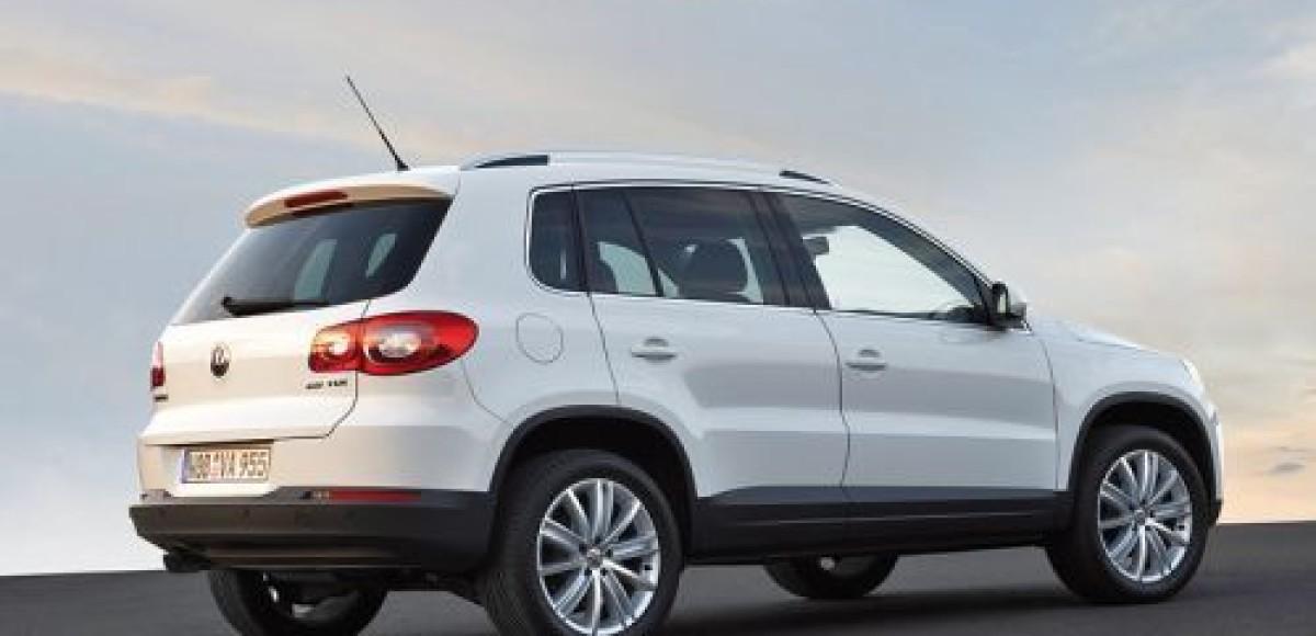 Volkswagen Tiguan. Дни открытых дверей в Санкт-Петербурге