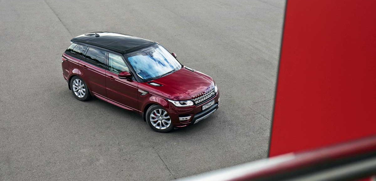 Range Rover Sport. Кибер-спортсмен