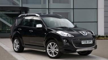 Peugeot предлагает спортивный пакет для модели 4007