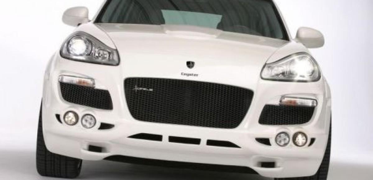 Ателье Hofele-Design предлагает тюнинг-комплект для Porsche Cayenne