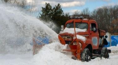 В Москве ночью репетировали уборку снега