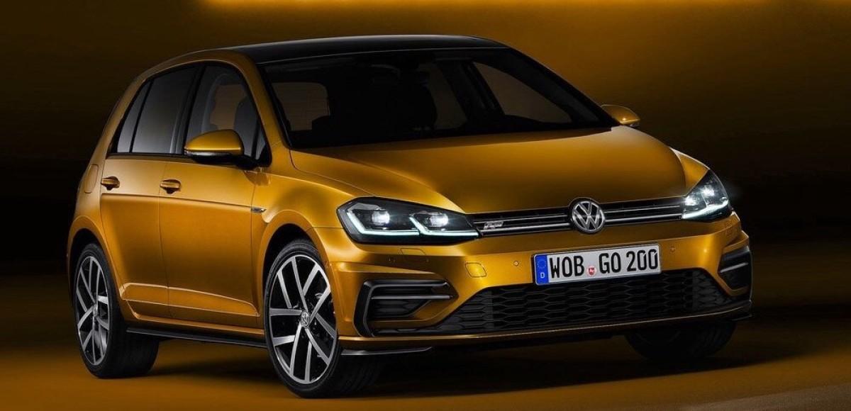 Мировая премьера обновленного Volkswagen Golf