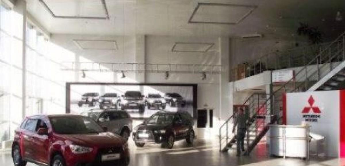 Новый дилерский центр Mitsubishi Motors в Казани