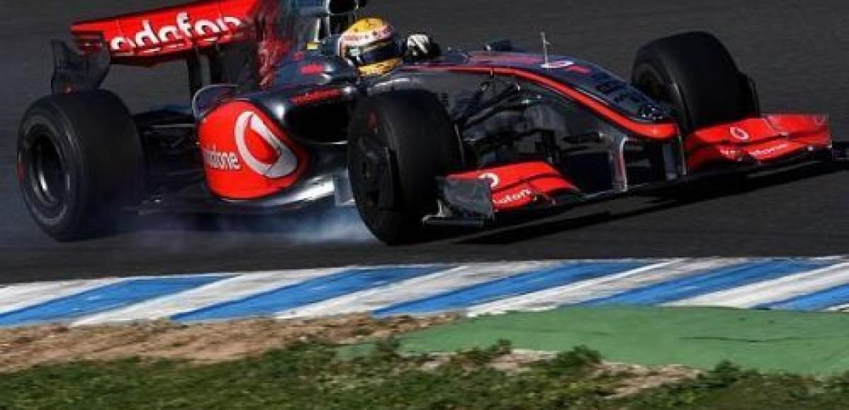 McLaren-Mercedes испытывает новую аэродинамику