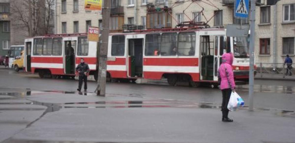 На Казанской улице произошло ДТП, которое образовало пробку