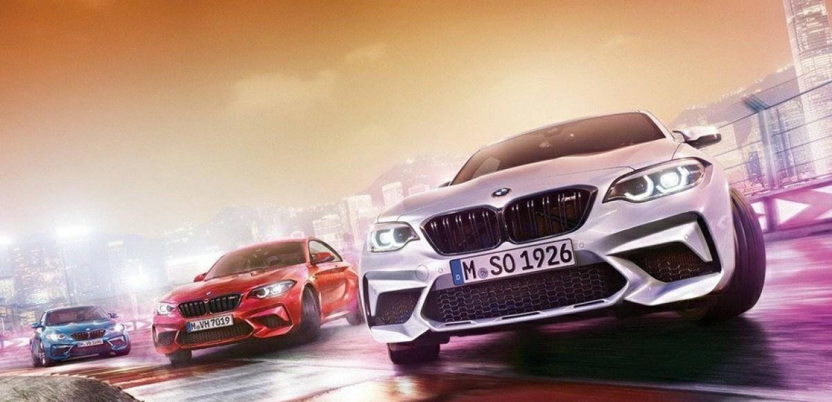 BMW M2 Competition: первые снимки