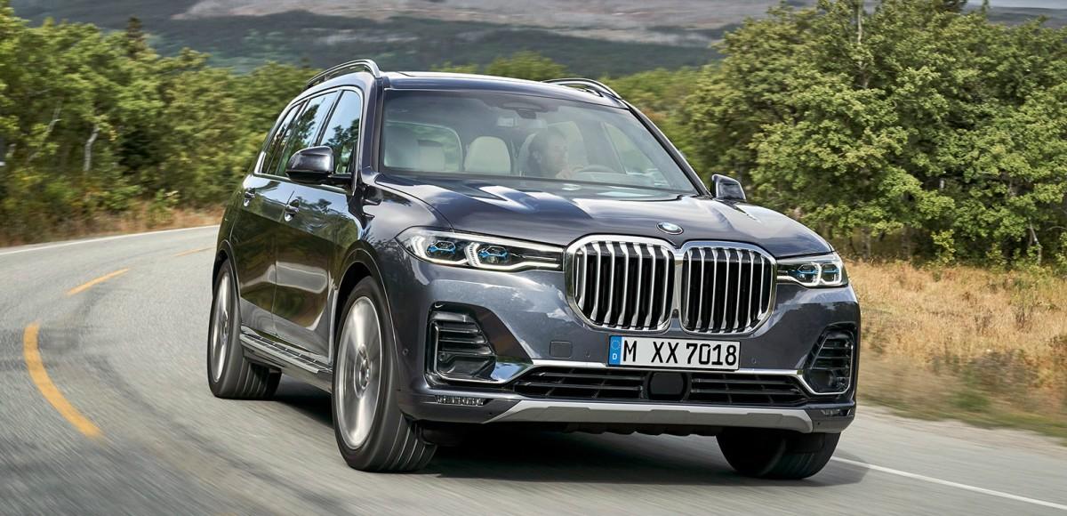 BMW X7: В России уже весной 2019 года