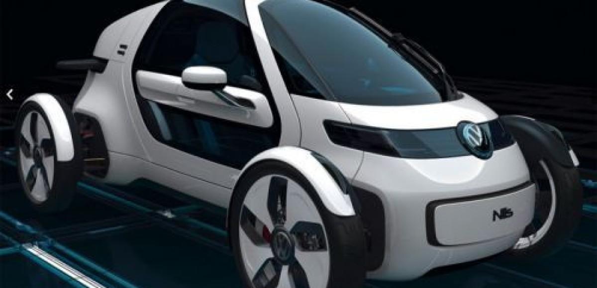 VW представил одноместный городской электрокар Nils