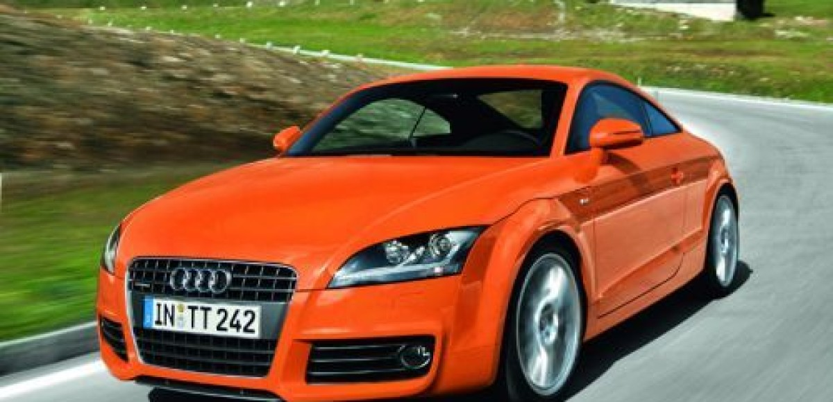 Audi дарит покупателям TT имиджевый пакет «100 лет Audi»