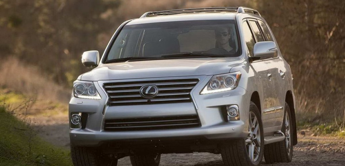 Три тонны роскоши: Lexus LX