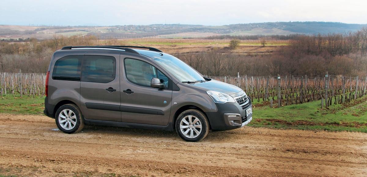 Peugeot Partner Tepee: идеальный вариант