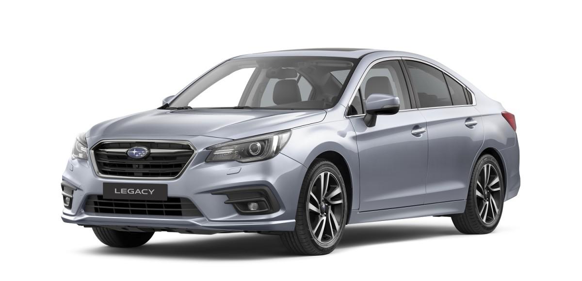 Subaru Legacy 2019: небольшое обновление и новые цены