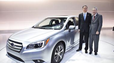 Мировая премьера Subaru Legacy состоялась в Чикаго